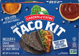 Blue Corn Taco Kit