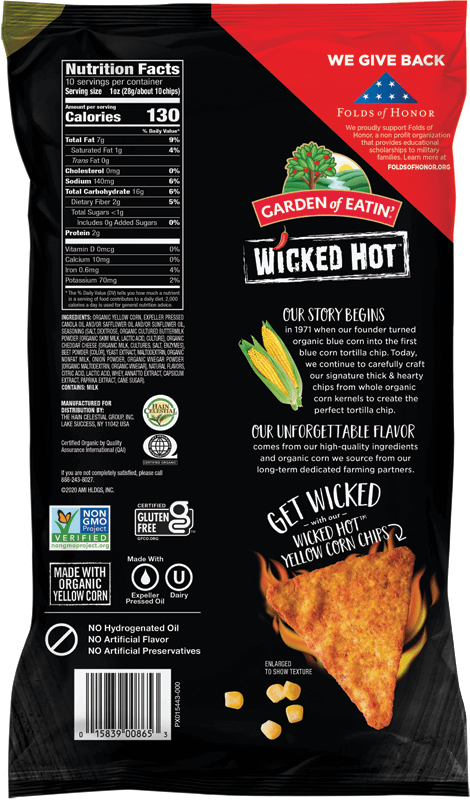 Wicked Hot Tortilla Chips